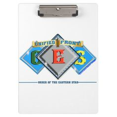 OES Order of the Eastern Star Clipboard