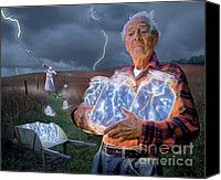 The Lightning Catchers Photograph by Bryan Allen - The Lightning Catchers Fine Art Prints and Posters for Sale