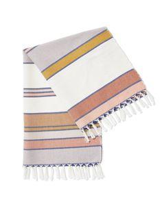 Sunrise Stripe Towel