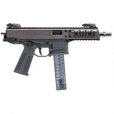 "B&T GHM9 Semi Auto Pistol 9mm Luger 6"" Barrel 30 Rounds Matte Black Handgun, Firearms, Kiss Kiss Bang Bang, Big Boyz, Tactical Equipment, Mens Gear, Matte Black, Guns"