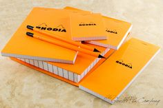 A box of Rhodia goodness. Perfect for the paper lover in your life | http://www.gouletpens.com/R9200/p/R9200