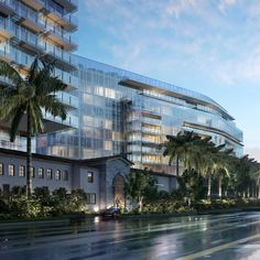 Richard Meier & Partners redevelop the 'the Surf Club', a historic 1930 structure, into a two tower hotel with panoramic views overlooking the atlantic ocean. located in Miami, Florida.