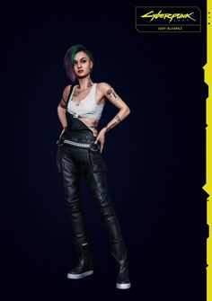 Cyberpunk 2077, Cyberpunk Girl, Arte Cyberpunk, Cyberpunk Character, Nintendo 2ds, Femmes Les Plus Sexy, Night City, Cute Bunny, Pants Outfit