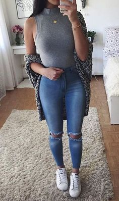 teen fashion outfits, outfits for teens, jean outfits, casual outfits, Teen Fashion Outfits, Mode Outfits, Jean Outfits, Outfits For Teens, Casual Outfits, Womens Fashion, Outfits For The Movies, 90s Fashion, Fall Fashion