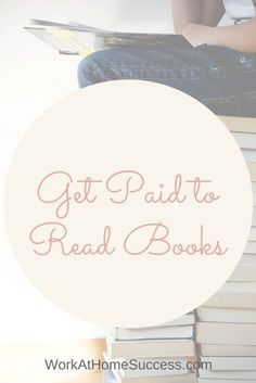 Get Paid to Read Books: Work At Home Ideas for People Who Love to Read Love reading? Get paid to read book! Earn Money From Home, Way To Make Money, Make Money Online, Work From Home Opportunities, Work From Home Jobs, Mo Money, Job Work, Money Matters, Online Work