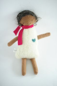 pretty Wool Doll