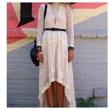 Witte lace dress - Fashion - Streetstyle - Blogger - Inspiration - Trending