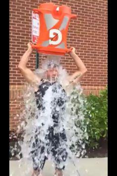 Raising awareness for ALS, Ice Bucket Challenge