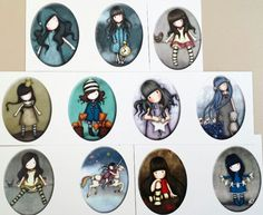 Imagenes camafeos Bottle Cap Art, Bottle Cap Images, Scrabble Crafts, Homemade Stickers, Fimo Clay, Cute Cartoon Wallpapers, Digi Stamps, Vintage Girls, Whimsical Art