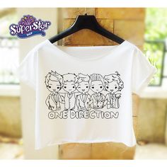 Magcon Boys shirt women crop top Logo Magcon Boys Tour tshirt white... ($14) ❤ liked on Polyvore featuring tops and one direction