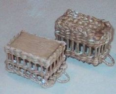 miniatures and dollshouses wicker and basket making miniatures pinterest miniatures. Black Bedroom Furniture Sets. Home Design Ideas