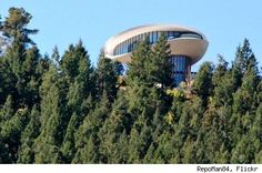 Famous Movie Locations: The Sculptured House from 'Sleeper' (Golden, Colorado)