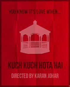 Kuch Kuch Hota Hai  1998  - By http   myminimalart.tumblr 0e55dfa691355