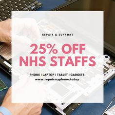 Stay Home! Fix your device via Mail-In Repair Service. Start now to get Off for students and employees and also off for all NHS Staffs. Apple Repair, Save Life, Fix You, Students, How To Get, Phone, Telephone, Mobile Phones