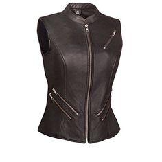 The Fairmont Ladies Five Zippered Pockets Vest