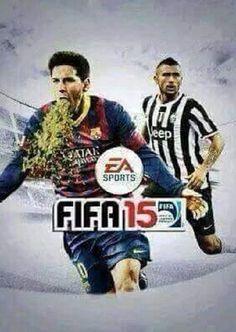 Lionel Messi puszcza pawia podczas radości z gola • Powstała nowa okładka gry FIFA 2015 • Wejdź i zobacz śmieszną wersję Fify 15 >>