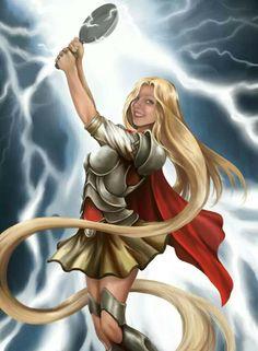 Thor/Rapunzel Mash-up