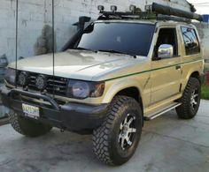 Montero offroad Mitsubishi Shogun, Mitsubishi Pajero, Montero Sport, Toy Trucks, Black Opal, Camper Van, Jeeps, Cars And Motorcycles, Offroad