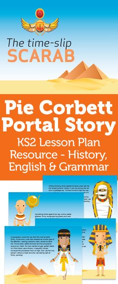 Pie Corbett's Ancient Egypt Portal Story: Lesson Plan Resource – History, English & Grammar Ks2 English, Primary English, English Grammar, Teaching English, Ancient Egypt Activities, Ancient Egypt For Kids, Ancient Greek, Talk 4 Writing, Writing Ideas