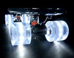 self-illuminating transparent cruisers by sunset skateboards - designboom | architecture & design magazine
