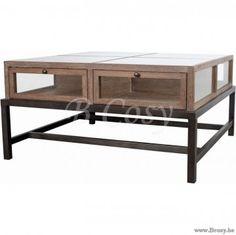 "Braxton-Lifestyle Arendal-Coffee Table 90X90X49 <span style=""font-size: 6pt;""> Koffietafel-Salontafel-table-de-salon-table-basse-couchtisch </span>"