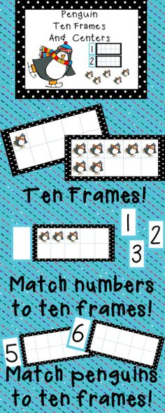 Independent ten frame fun for your students!