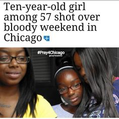 """""""Melanie was among 57 people  four fatally  who were shot across Chicago between Friday evening and early Monday morning marking the second consecutive weekend in the city in which shooting victims topped 50 according to data compiled and analyzed by the Tribune. That marks the first time that has happened on back-to-back weekends over the four years that the Tribune has been tracking shootings.  However more than 40 were shot on four consecutive weekends in August.  So far this year Chicago…"""