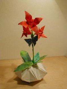 Oribana iris e borboleta