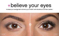 Moodstruck 3D Fiber Lashes+ #youniqueproducts #fiberlashes #mascara #younique #eyes #makeup