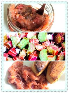 Rhubarb-Lime-Chutney with Cranberries or Aronia - delicious! Take it to your next vegan BBQ