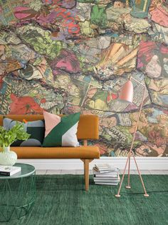 Blast From the Past is an urban style wall mural designed by Derek Prospero. Order your made-to-measure wallpaper online. Free delivery and paste included. Wallpaper Suppliers, Print Wallpaper, Wallpaper Ideas, Wallpaper Online, Bespoke Design, Postmodernism, Vivid Colors, Wall Murals, Backdrops