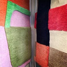 Doug and Gene Meyer rugs at Holland and Sherry