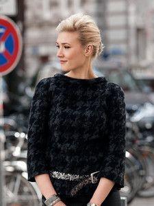 burda style: Damen - Shirts - Langarm-Shirts - Jumper - Shirt, 3/4-Arm