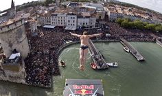 The Red Bull cliff diving championship.