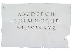 Roman & freestyle alphabets. 2016