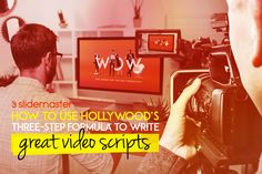 With video ruling the content world, now is the time to make sure your videos stand out and connect with your audience. We reveal the secret three-step formula for video scripts that set-up, hook and convince your viewers.   #slidemaster #powerpointpresentations #explainervideos #presentationdesign #wowyouraudience