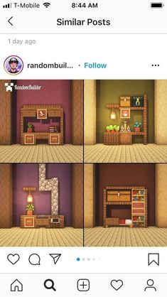 Cute Minecraft Houses, Minecraft Farm, Minecraft Plans, Amazing Minecraft, Minecraft House Designs, Minecraft Construction, Minecraft Tutorial, Minecraft Blueprints, Minecraft Creations