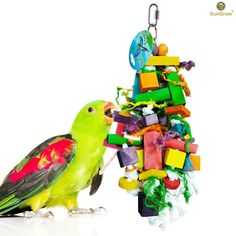 Bird Toys Pet Birds Parrot Toys Cockatoo Parakeet Bird Swing Budgie Cotton Climbing Rope Knots With Christmas Bells Hanging Chew Decor Elegant In Smell