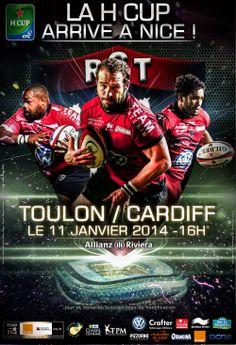 H Cup - Toulou-Cardiff à l'Allianz Riviera le 11 janvier 2014