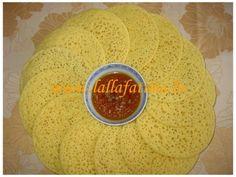 Crêpes marocaines (baghrir)
