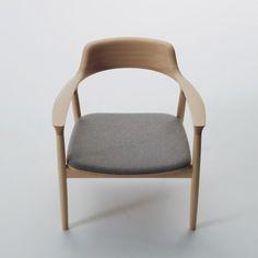 Maruni Japan, HIroshima chair, by Naoto Fukasawa.  Porportions, comfort, fine finish on wood feels like glass.