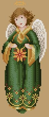 Color Preview of 2005 Christmas Angel http://www.tiag.com/otherproducts/2005preview.html