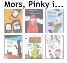 "Mors, Pinky i... – strona o książkach Dariusza Rekosza z serii ""Mors, Pinky i...""."