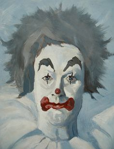 Distinctive Vintage Clown Painting 1967 by KikisWhatnotterie
