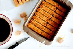 Simple Tiramisu « Dessert « Zoom Yummy – Crochet, Food, Photography Easy Tiramisu Recipe, Tiramisu Dessert, No Bake Lemon Cheesecake, Cheesecake Recipes, Gourmet Recipes, My Recipes, Gourmet Foods, Lemon Ricotta Cookies, Easy Desserts