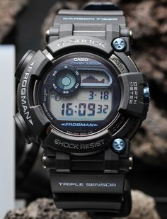 "Casio G-Shock Frogman GWF-D1000 Hands-On: The Ultimate Diving Tool Watch - by Ariel Adams - on aBlogtoWatch.com ""For Baselworld 2016, Casio has introduced one of the most impressively cool G-Shock watches in a while with the brand new model GWF-D1000 Frogman diver. Casio's premier serious diving G-Shock watch has retained everything we love about a Casio G-Shock and has grown into a serious diving computer. Casio has finally developed a neat-looking tool that modern divers can rely on..."""