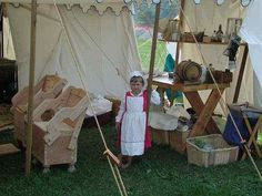 Embarking on a Period Medieval Encampment - An article with some useful ideas