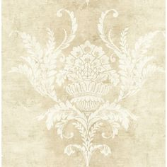 Damask Wallpaper, Vinyl Wallpaper, Acanthus, Cross Stitch Embroidery, Stencils, Tapestry, Leaves, Colours, Rugs