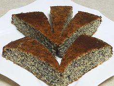 מתכון עוגת פרג ללא גלוטן וללא תוספת סוכר, אחת העוגות הטעימות ביותר שאינה מכילה סוכר לבן וגלוטן בכלל - עוגת פרג שכיף לאכול לצד התה