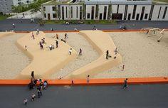 quartiersplatz theresienhöhe Playground, Basketball Court, Children Playground, Outdoor Playground
